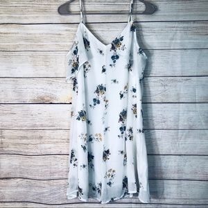 Abercrombie and Fitch white floral dress Sz M